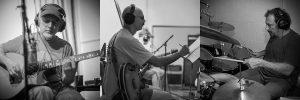 Phil Keaggy Tony Levin Jerry Marotta in the Studio
